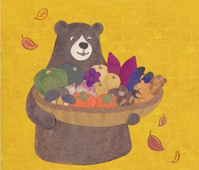 [ Papercut ] iikitchen autumn calendar
