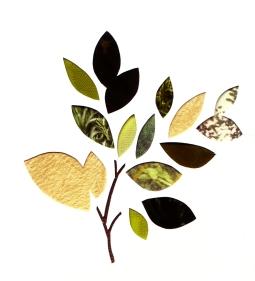 Paper cut : leaves