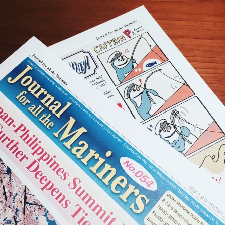 "comic on "" Journal for Mariners """