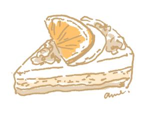 ケーキはごほうび