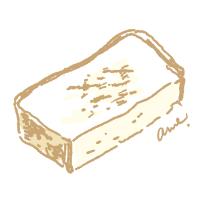 トーストにバターたっぷり塗ったら元気がでる